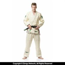 Flow Kimonos Hemp BJJ Gi - Natural White